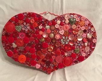 Heart eith s Button