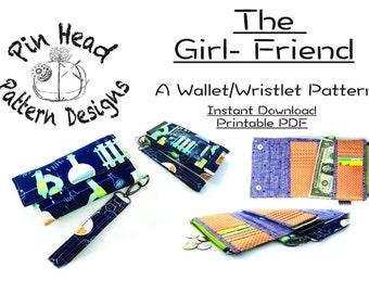 The Girl-Friend: A Wristlet / Wallet Pattern from Pin Head Pattern Designs