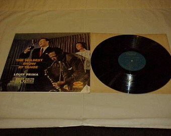 Louis Prima and Keely Smith - 33 LP - The Wildest Show At Tahoe