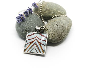 Architecture inspired necklace - Petersen Automotive Museum