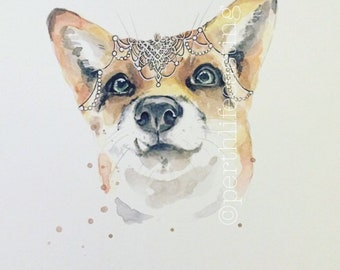 Juniper Fox limited edition print