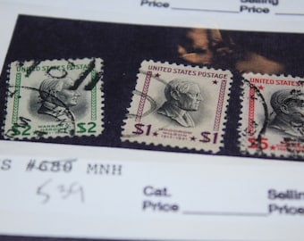 U S Postage Stamps