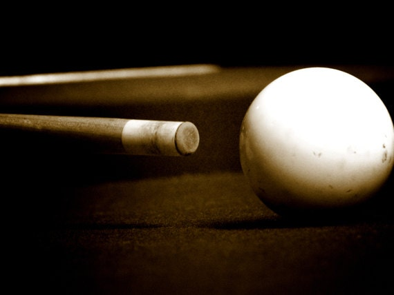 Superbe Sepia Pool Table Photograph Sepia Photography Wall Art