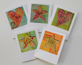 Colorful Cheery All Occasion Card Set WISH COLLECTION