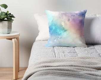 Rainbow Pillows, Rainbow Throw Pillow, Rainbow Cushion, Rainbow Toss Pillow, Rainbow Nursery, Rainbow Pillow Case, Rainbow Pillow Cover