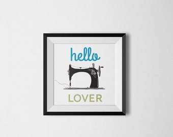 Sewing Love Poster