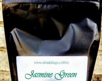 Jasmine Green Tea (100 grams, 50 cups worth)
