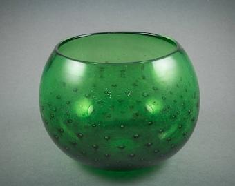 Emerald Glass Bowl