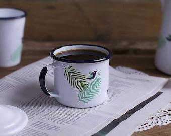 Spring Enamel Mug