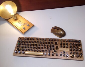 Steampunk keyboard, Gaming keyboard