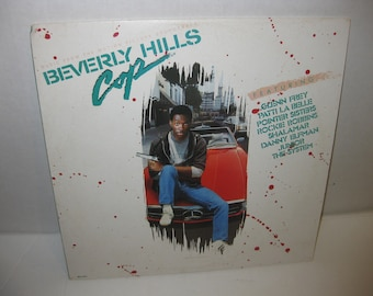 Beverly Hills Cop Soundtrack - Vinyl 33 RPM Record  - VG+ Condition