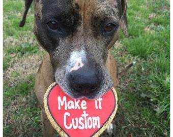 Custom Valentines Hearts