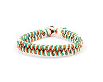 Irish Jewelry, Ireland Gifts, Hemp Bracelet, Surfer Bracelet, Thick Bracelet, Gift for Him, Connor McGregor