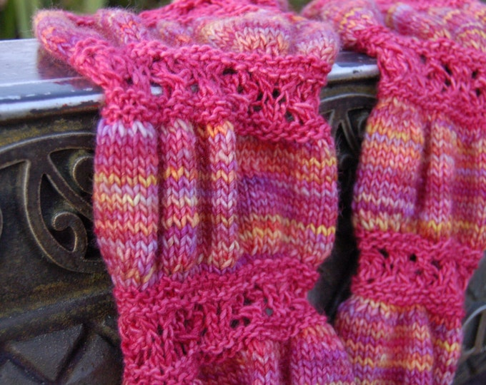 Ruched (PDF knitting pattern)