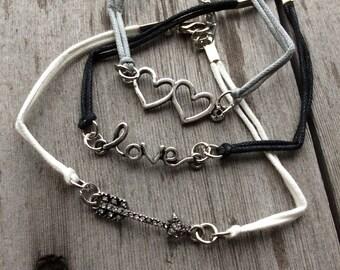 Love Bracelets/Love/Boho/Hippie