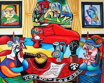 Print, Picasso Print, Pablo Picasso, Fine Art Print, Wall Art, Picasso Artwork, Home Decor, Wall Art Print