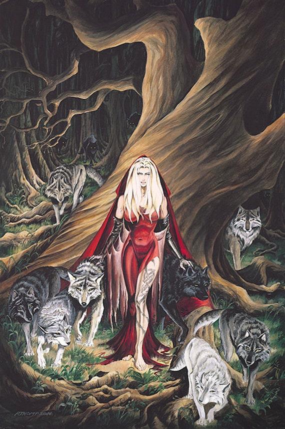 Howl By Fantasy Artist Ruth Thompson Soden