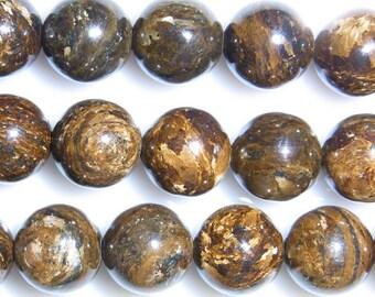 4mm/6mm/8mm/10mm Round Bronzite Bead Semiprecious Gemstone Bead String Beading 15''L Jewelry Supply Wholesale Beads