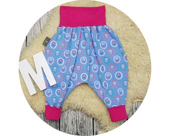 Baby, trousers, Jerseyhose, wax trousers, Pumphose, harem trousers, baby pants, tulips, flowers, Holland