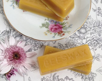 100% All Natural Pure Beeswax Bars - Five Ounces - Bath and Beauty Products Supply