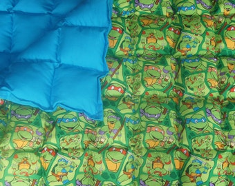 Turtles Weighted Blanket Large (38-40x70)
