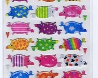 Pig Stickers - Hard Stickers - Mind Wave - Reference F1470F1602F1719F2433F2761