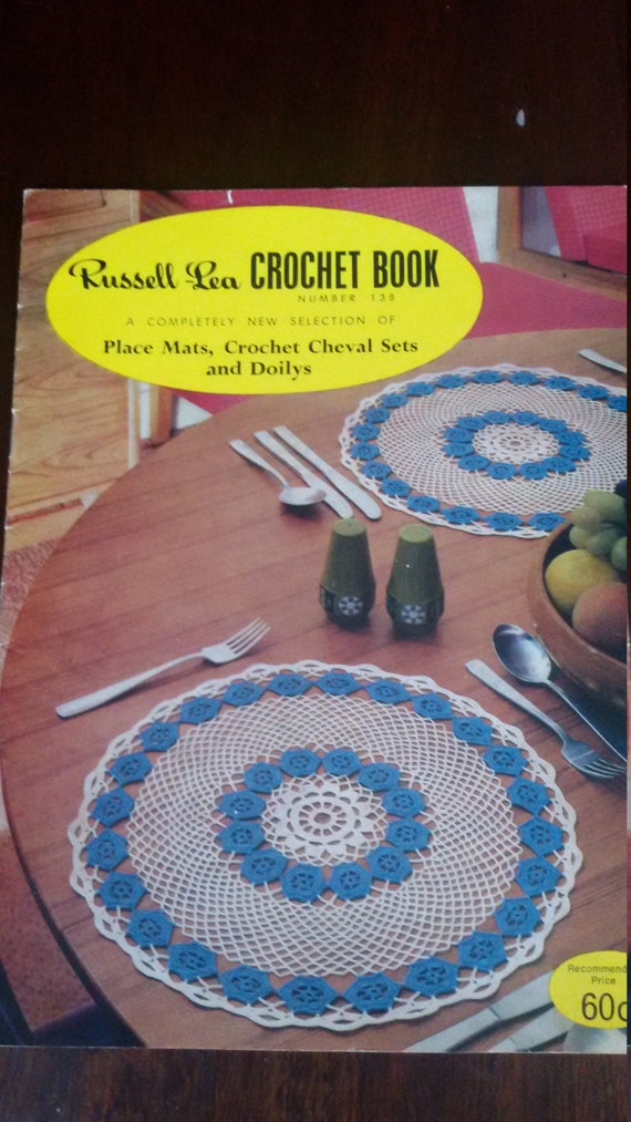 Crochet Patterns, Russell Lea Crochet Book 1,38 booklet, 1979 ...