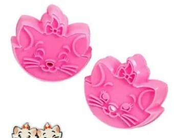 Marie Dutchess Cat  fondant cutters
