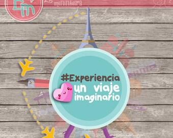 KIT Experiencia viajera imaginaria - español -