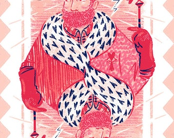 King of Hearts Valentine