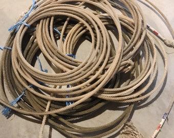Vintage Cowboy Rope