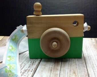 Appareil photos en bois