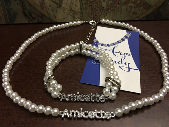 ZYA Amicette Necklace and Bracelet Set