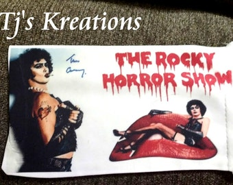 Rocky Horror soft drawstring pouch for glasses / sunglasses