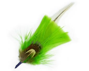 """Expo 4 1/2"""" Feather Plume Pack of 3"""