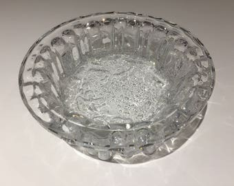Hadeland Willy Johansson Atlantic Art Glass Dish
