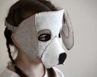 Dog Mask PDF Pattern