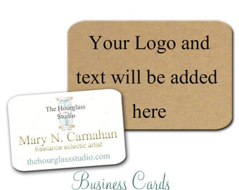 Business Cards -  Custom Business Cards - jewelry Cards - Earring Cards - Display Cards