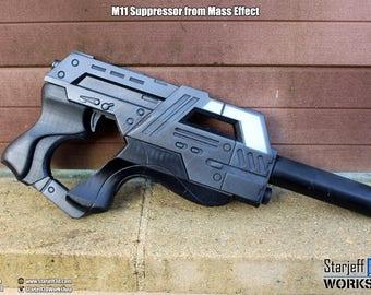 M11 Suppressor from Mass Effect [Fan-art]