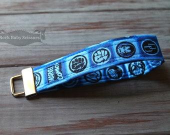 Super Hero Key Fob | Wrist strap | Key chain