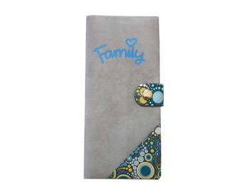 Protects family effervescent bubbles pattern cotton and suede