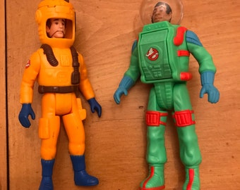 Kenner The Real Ghostbusters Super Fright Features Peter Venkman & Winston Zeddemore Action Figures FREE SHIPPING