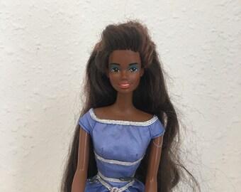 Christie/Theresa, Vintage Barbie, African American Barbie, 1990s Barbie Doll