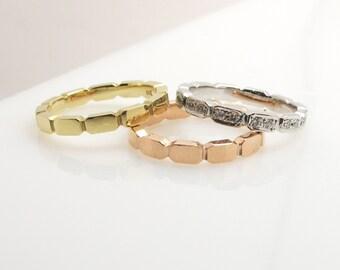 3 color diamond rings .