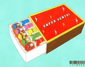 8 × 10 Art Print - Super Match Box -