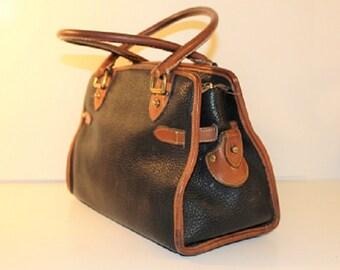 Vintage Dooney and Bourke, Large Satchel, Handbag, 313181
