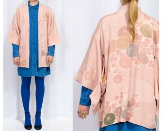 kimono, kimono jacket, haori, kimono robe, silk kimono robe, silk kimono, silk robe, boho, kimono vintage, hippie clothes, kaftan, vintage