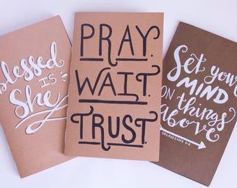 Custom Scripture Journal