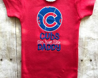Chicago Cubs Inspired Shirt or Bodysuit