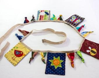 SEWING PATTERN, Baby Bunting Pattern, Appliquéd Bunting Pattern, Unique Bunting, Nursery Décor